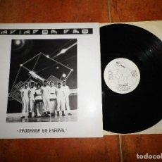Discos de vinilo: AVIADOR DRO PROGRAMA EN ESPIRAL MAXI SINGLE VINILO AÑO 1982 CONTIENE 4 TEMAS COMO NUEVO TECHNO POP. Lote 129181915