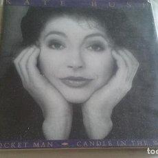 Discos de vinil: SINGLE KATE BUSH. ROCKET MAN - CANDLE IN THE WIND. MERCURY 1990. Lote 129182503