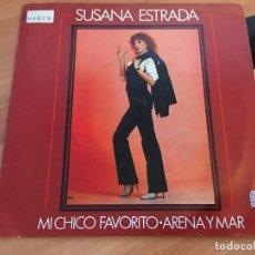 Discos de vinilo: SUSANA ESTRADA (MI CHICO FAVORITO) SINGLE ESPAÑA 1981 (EIP14). Lote 129184987