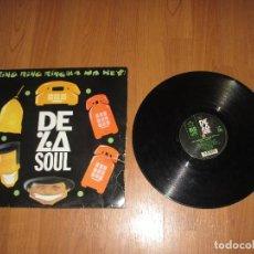 Discos de vinilo: DE LA SOUL - RING RING RING - MAXI - UK - BIG LIFE - IBL - . Lote 129187647