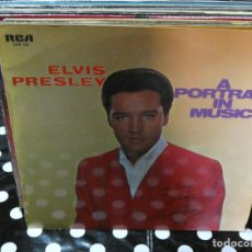 Discos de vinilo: DISCO LP DE VINILO ELVIS PRESLEY A PORTRAIT IN MUSIC COMO NUEVO. Lote 129192859