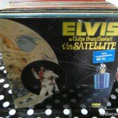 Discos de vinilo: DOBLE LP ELVIS PRESLEY ALOHA HAWAII VIA SATELLITE ALEMAN MUY BUEN ESTADO. Lote 129205955