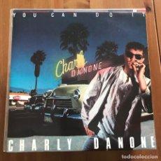 Discos de vinilo: CHARLY DANONE - YOU CAN DO IT - MAXISINGLE BLANCO Y NEGRO 1987. Lote 228568995