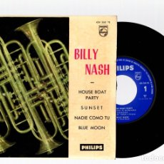 Discos de vinilo: SINGLE BILLY NASH. PHILIPS. AÑO 1961. Lote 129233751