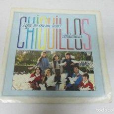 Discos de vinilo: LOS CHIQUILLOS - QUE NO ERA UN LEON + ANDALUCIA -SINGLE- ARIOLA 1983 SPAIN B-105.008 EXCLENTE. Lote 234461785
