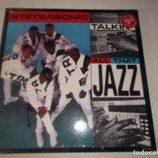 Discos de vinilo: STETSASONIC – TALKIN' ALL THAT JAZZ SELLO: TOMMY BOY – TB 918 FORMATO: VINYL, 12. Lote 129243111