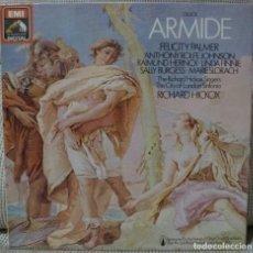Discos de vinilo: GLUCK - ARMIDE (CAJA 3 LPS + LIBRETO UK) VINILOS COMO NUEVOS. Lote 129244939