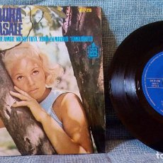 Discos de vinilo: LAURA CASALE - ABRIL EN MADRID + 3 - WALDO DE LOS RIOS + ORQ. FRANK FERRAR EP HISPAVOX HH 17-330 EX. Lote 129249455