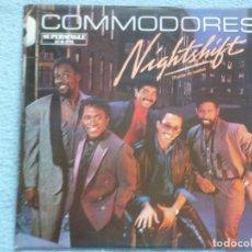 Discos de vinilo: THE COMMODORES,NIGHTSHIFT EDICION ESPAÑOLA DEL 85 PROMO. Lote 129253179