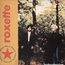 Discos de vinilo: ROXETTE FADING LIKE A FLOWER, MAXI-SINGLE EMI SPAIN 1991. Lote 129257503