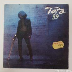 Discos de vinilo: SINGLE TOTO 99. Lote 129288824