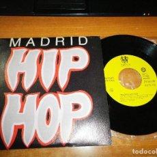 Discos de vinilo: MADRID HIP HOP A LO GRANDE ESTADO CRITICO / TU AMOR ES LO MEJOR QSC SINGLE VINILO PROMO 1989 RAP. Lote 129295271