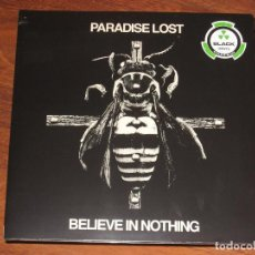 Discos de vinilo: (SIN ABRIR) PARADISE LOST - BELIEVE IN NOTHING (REMIXED / REMASTERED) ____ (27361 43091). Lote 129297359