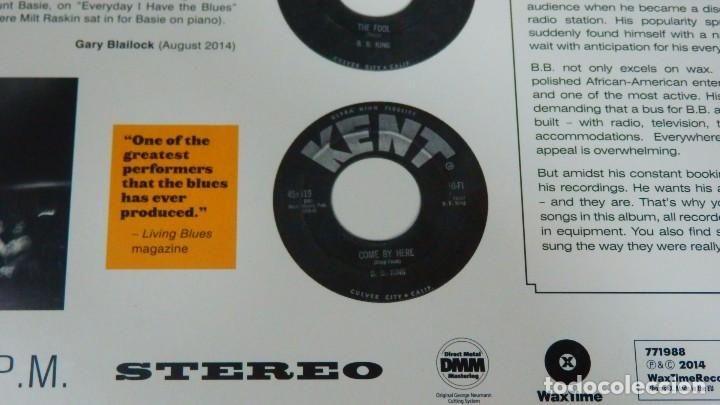 Discos de vinilo: B.B. KING And His Orchestra * LP HQ Virgin Vinyl 180g + descarga * WAILS * Bonus * Precintado - Foto 5 - 129302795