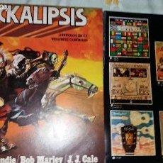 Discos de vinilo: TER ROCKALIPSIS CON BUGGLES Y 8 CROMOS. Lote 122945951