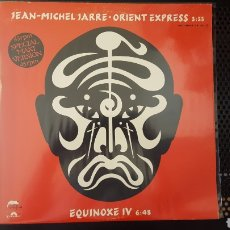 Discos de vinilo: MAXI - JEAN-MICHEL JARRE – ORIENT EXPRESS / EQUINOXE IV - POLYDOR 21 41 550. Lote 129306664