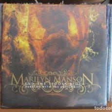 Discos de vinilo: LP_MARILYN MANSON_DANCING WITH THE ANTICHRIST_NUEVO PRECINTADO. Lote 129308147
