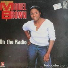 Discos de vinilo: MIQUEL BROWN ?– ON THE RADIO. 12´´ MAXI SINGLE.. Lote 129310499