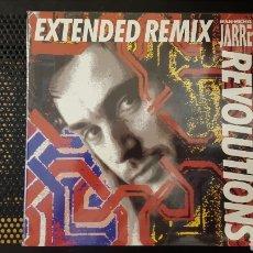 Discos de vinilo: MAXI - JEAN-MICHEL JARRE – REVOLUTIONS (EXTENDED REMIX) - POLYDOR – 871 027-1. Lote 129314156