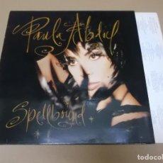 Disques de vinyle: PAULA ABDUL (LP) SPELLBOUND AÑO 1991 – ENCARTE CON LETRAS. Lote 129318903