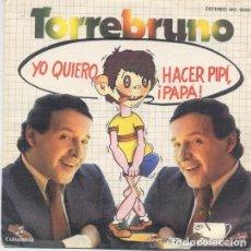 Vinyl records - Torrebruno - Yo quiero hacer pipi papa - Single promo 1979 - 129321279