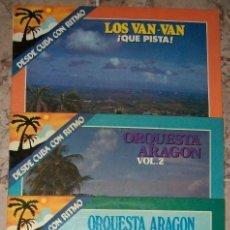 Discos de vinilo: DISCOS (DESDE CUBA CON RITMO 4 DISCOS) (ORQUESTAS). Lote 129328763
