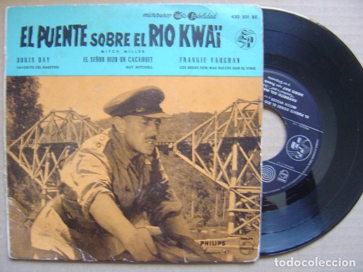 VARIOS - BANDA SONORA - EL PUENTE SOBRE EL RIO KWAÏ - EP 1958 - PHILIPS (Música - Discos de Vinilo - EPs - Bandas Sonoras y Actores)