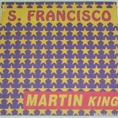 Discos de vinilo: MARTIN KING - S. FRANCISCO - DISCOMAGIC 1993 ITALIA. Lote 129343631