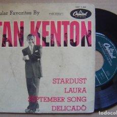 Discos de vinilo: STAN KENTON - STARDUST - EP - CAPITOL. Lote 129345651