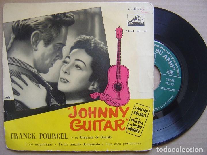 FRANK POURCEL - JOHNNY GUITAR - EP - LA VOZ DE SU AMO (Música - Discos de Vinilo - EPs - Pop - Rock Extranjero de los 50 y 60)