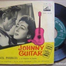 Discos de vinilo: FRANK POURCEL - JOHNNY GUITAR - EP - LA VOZ DE SU AMO. Lote 129349239