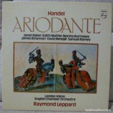 Discos de vinilo: HANDEL - ARIODANTE (CAJA 4 LPS + LIBRETO PHILIPS ESPAÑA) VINILOS COMO NUEVOS. Lote 129350343
