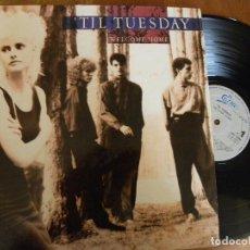 Discos de vinilo: TIL TUESDAY -WELCOME HOME -LP 1986. Lote 129351515