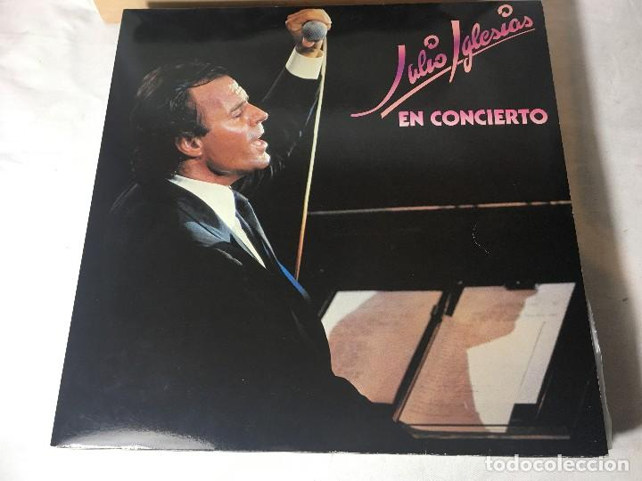 DISCO LP DOBLE CARPETA JULIO IGLESIAS (Música - Discos - LP Vinilo - Solistas Españoles de los 50 y 60)
