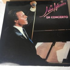 Discos de vinilo: DISCO LP DOBLE CARPETA JULIO IGLESIAS. Lote 129363143
