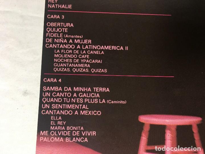 Discos de vinilo: DISCO LP DOBLE CARPETA JULIO IGLESIAS - Foto 4 - 129363143