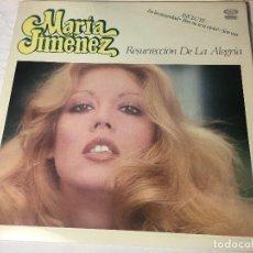 Discos de vinilo: DISCO LP CARPETA MARIA JIMENEZ. Lote 129363687