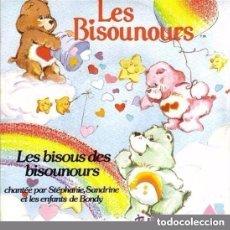 Discos de vinilo: STÉPHANIE, SANDRINE ET LES ENFANTS DE BONDY – LES BISOUS DES BISOUNOURS - SINGLE FRANCE 1986. Lote 129374531
