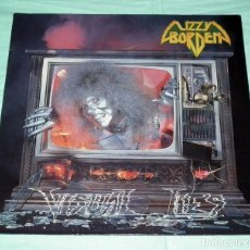 Discos de vinilo: LP LIZZY BORDEN - VISUAL LIES. Lote 129382763