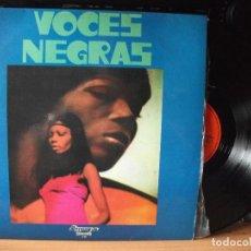 Discos de vinilo: VARIOS - ESPIRITUALES VOCES NEGRAS LP SPAIN 1972 PDELUXE. Lote 129388063