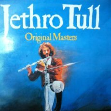 Discos de vinilo: JETHRO TULL ORIGINAL MASTERS LP 1985 ORIGINAL SPAIN. Lote 129388247