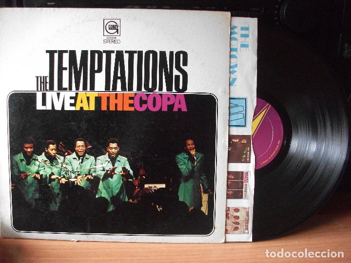 THE TEMPTATIONS LIVE AT THE COPA LP USA 1968 PDELUXE (Música - Discos - LP Vinilo - Funk, Soul y Black Music)