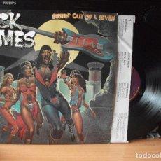 Discos de vinilo: RICK JAMES BUSTIN OUT OF L.SEVEN LP USA 1979 PDELUXE. Lote 129390067