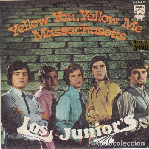 LOS JUNIOR'S - YELLOW YOU YELLOW ME - SINGLE DE VINILO (Música - Discos - Singles Vinilo - Grupos Españoles 50 y 60)