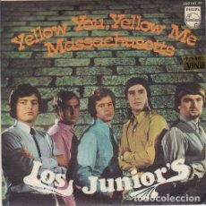 Discos de vinilo: LOS JUNIOR'S - YELLOW YOU YELLOW ME - SINGLE DE VINILO . Lote 129421871