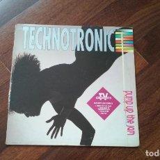 Discos de vinilo: TECHNOTRONIC-PUMP UP THE JAM.LP ESPAÑA. Lote 129428719