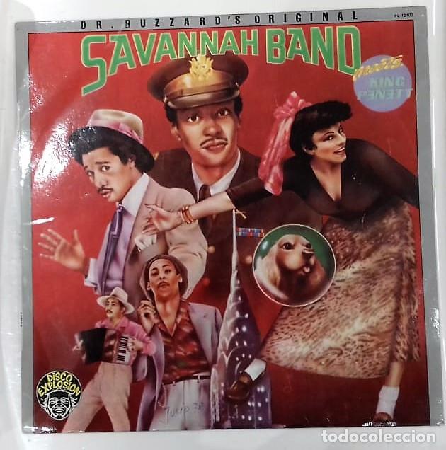 DR. BUZZARD´S ORIGINAL SAVANNAH BAND - MEETS KING PENETT LP PROMO ED. ESPAÑOLA 1978 (Música - Discos - LP Vinilo - Funk, Soul y Black Music)