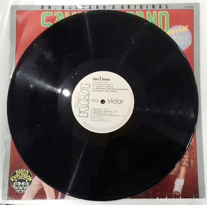 Discos de vinilo: DR. BUZZARD´S ORIGINAL SAVANNAH BAND - MEETS KING PENETT LP PROMO ED. ESPAÑOLA 1978 - Foto 3 - 129430271