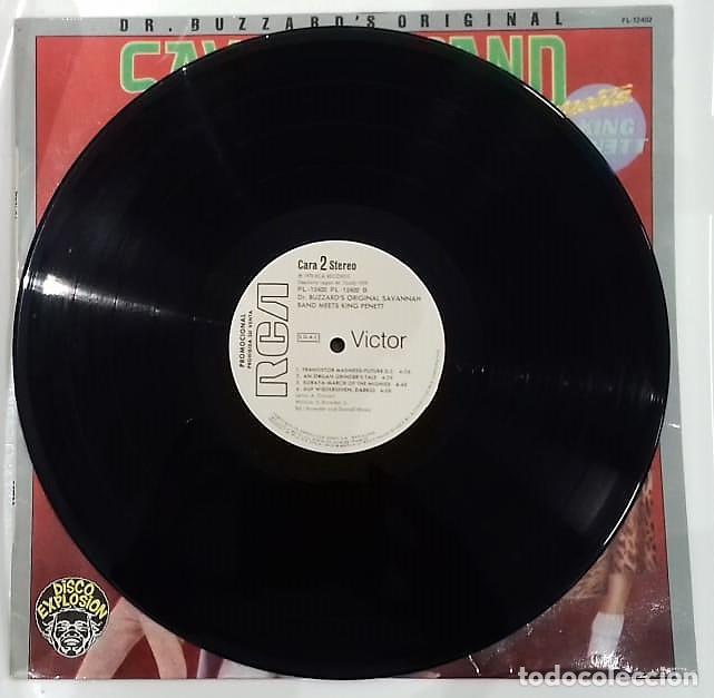 Discos de vinilo: DR. BUZZARD´S ORIGINAL SAVANNAH BAND - MEETS KING PENETT LP PROMO ED. ESPAÑOLA 1978 - Foto 4 - 129430271
