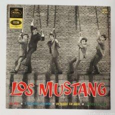 Discos de vinilo: SINGLE LOS MUSTANG CONOCERTE MEJOR. Lote 129432183